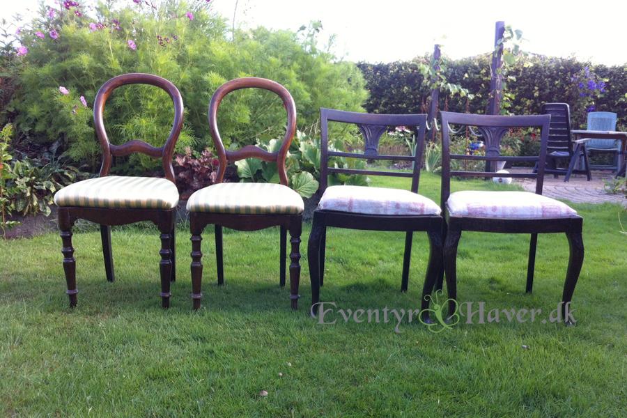 Gamle stole skal have nyt liv som havebænke