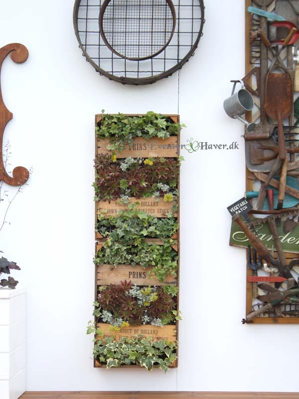 smil væg dekoration til haven