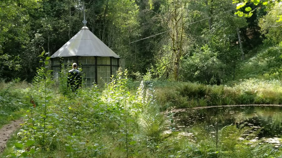 Pavillon i Gunillaberg, hos Tage Andersen