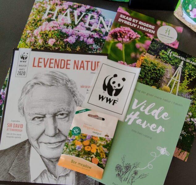 Danmarks Vilde Haver er samarbejde mellem WWF og Haveselskabet i Danmark. D