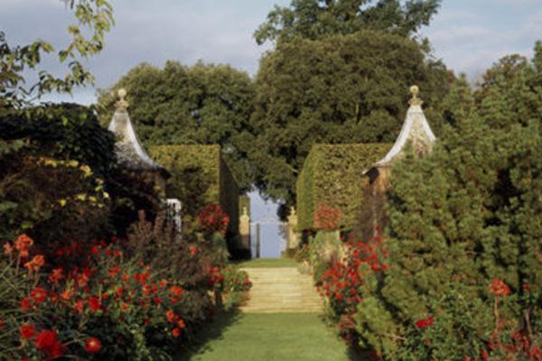 Hidcote Bartrim, gardens i Cotswolds, England