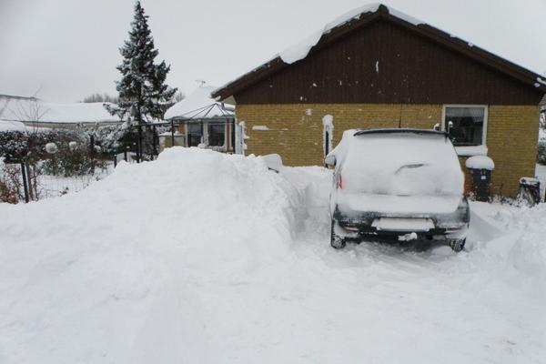 sne sne og atter sne