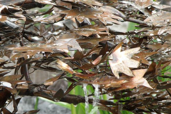 Kobbertræ som japansk løn