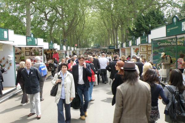 Godt besøgt, dejligt vejr på Chelsea Flower Show 2010
