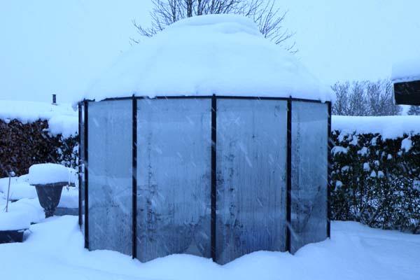 Classica House Pavillion som snehytte...