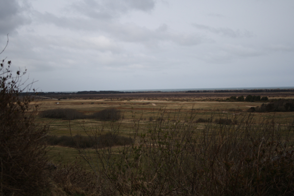 Fosdalen i nordjylland og udsigt fra Lien skrænten