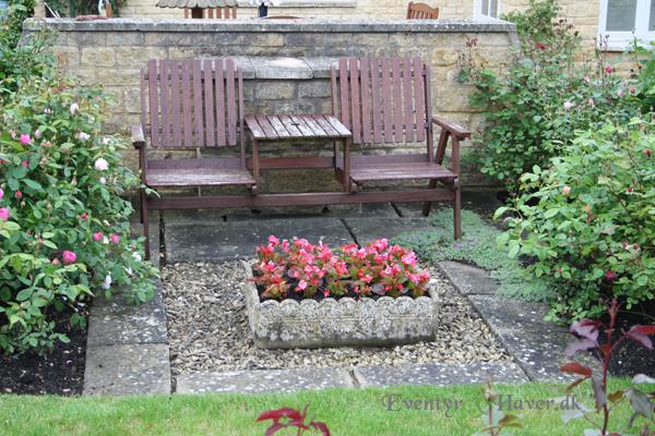 en siddeplads for 2 i haven