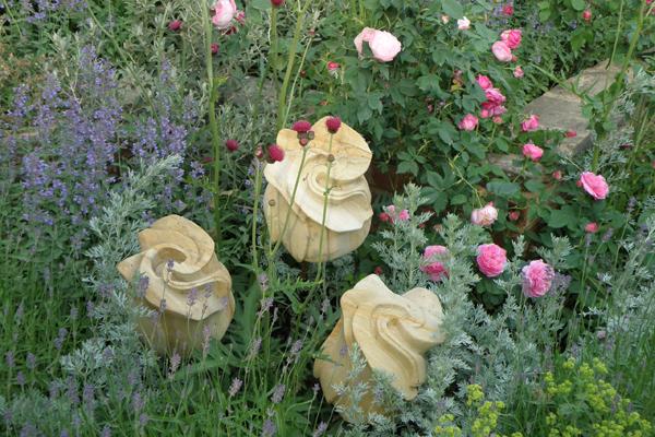 Romantisk rosen have - Chelsea Flower Show 2010