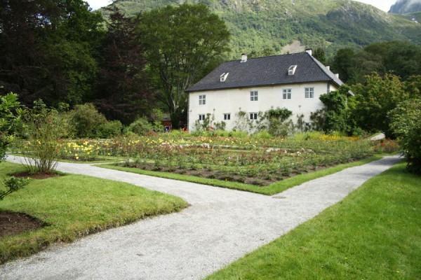 Det smukke slot Baroniet som er Norges eneste baroni