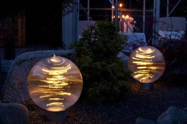 Crystal LED lavernergi havelampe