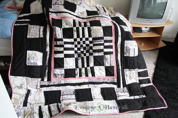 kunstnerisk quilt af patchwork