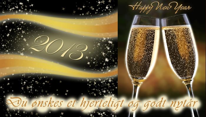 Godt nytår 2013